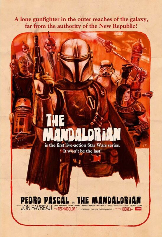 "The Mandalorian ( 11"" X 17"") Movie Collector"