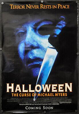 HALLOWEEN THE CURSE OF MICHAEL MYERS 1995 ORIG 27X40 MOVIE POSTER PAUL RUDD](Paul Rudd Halloween)