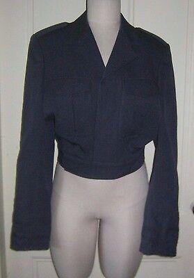 Vintage K.L.U. Macintosh Cropped Postal Military Marching Band Uniform Jacket 45