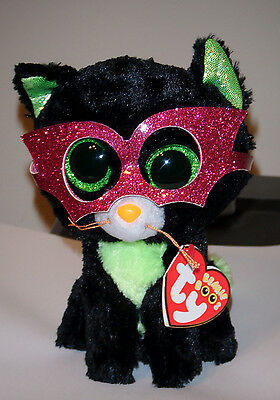 "Ty Beanie Boos ~ JINXY the 6"" Black Cat ~ 2014 ~ NEW with MINT TAGS ~ RETIRED"