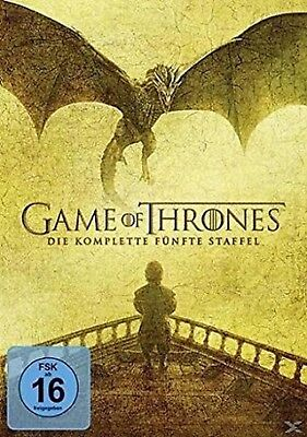 Game of Thrones Staffel 5 NEU OVP 5 DVDs