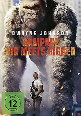 Rampage: Big Meets Bigger DVD NEU OVP Dwayne Johnson