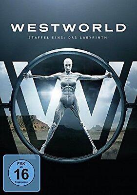 Westworld Staffel 1: Das Labyrinth NEU OVP 3 DVDs Die Serie