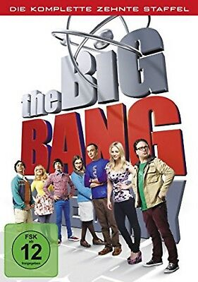 The Big Bang Theory Staffel 10 NEU OVP 3 DVDs