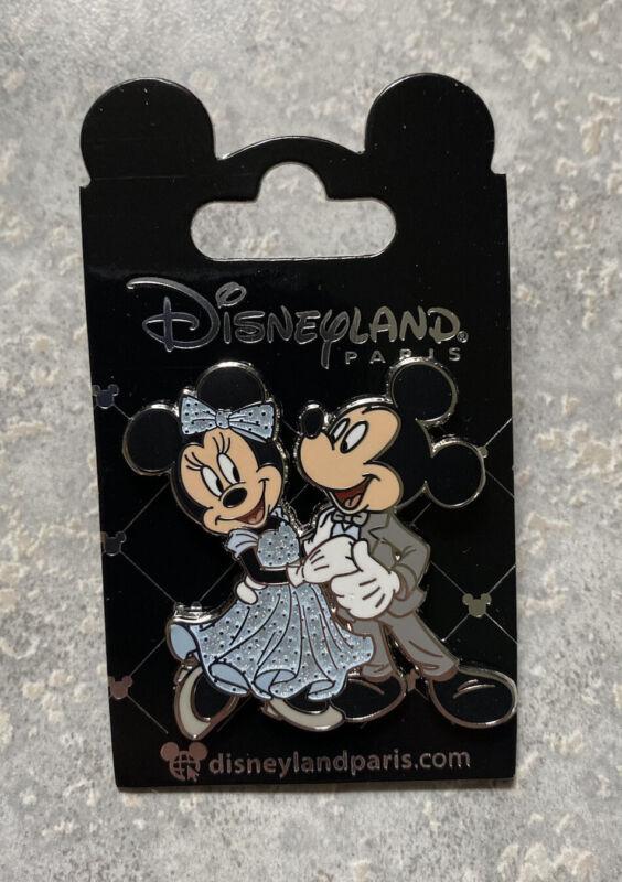 New Disney DLRP DLP Disneyland Paris Dancing Minnie Mickey Mouse Wedding Pin