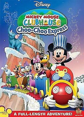 Mickey Mouse Clubhouse  Choo Choo Express  Dvd  2009  Disney Junior