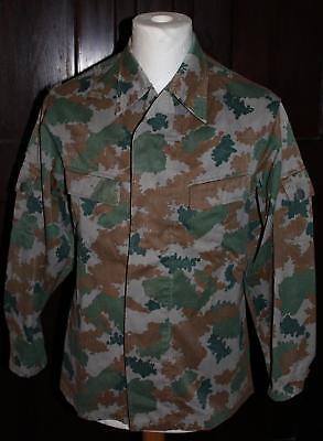 DDR Uniform Jacke NVA Blumentarn Fleckentarn Ende 1960er Jahre KVP