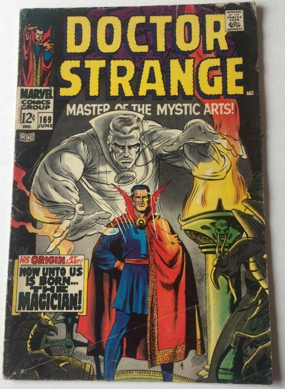 Doctor Strange #169 Marvel Comics June 1968