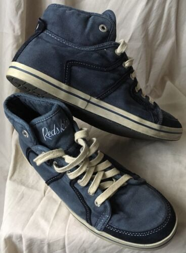 Baskets sneakers shoes redskins mid navy uk 7