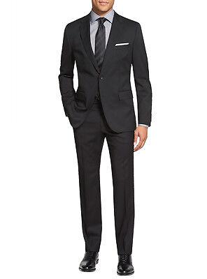 Salvatore Exte Mens Suit Two Button Side Vent Jacket Flat Front Pants