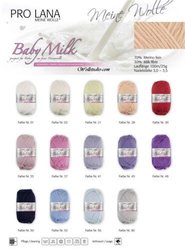 11,40EUR/100g Baby Milk Pro Lana