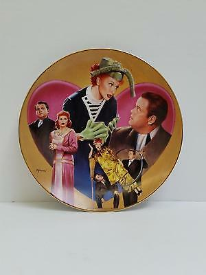 "I Love Lucy Hamilton Collection Plate ""Lucy Meets Orsan Wells"" by Morgan 0069A"