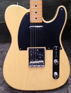 Fender Telecaster 50's Reissue MIJ Off White Blonde 2015