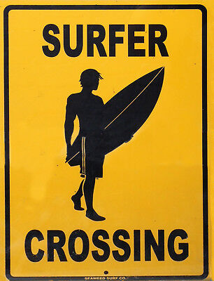 Surf Decor Sign Hanging (TIN SIGN