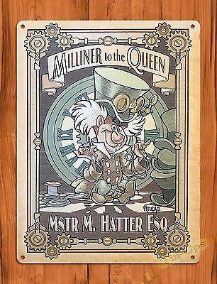 Mad Hatter Movie (Tin Sign