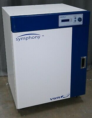 Vwr Symphony 414004-614 Gravity Convection Stainless Lab Incubator 105l3.7cuft