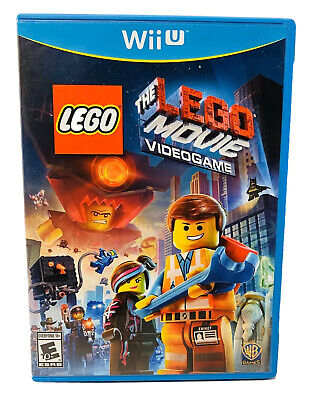 The LEGO Movie Videogame (Nintendo Wii U, 2014) Complete Fast Free Shipping