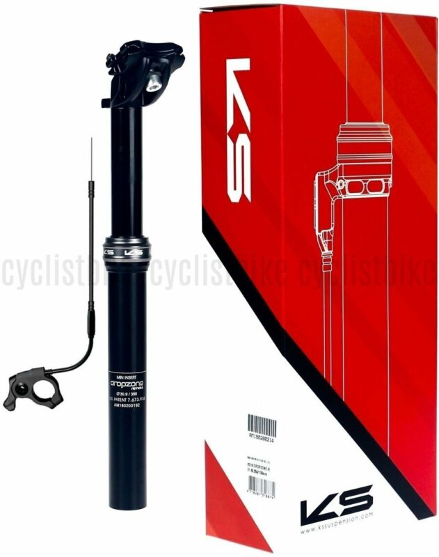Kind Shock KS i900-R Dropzone Remote Adjustable Seatpost 31.6 x 350//100mm