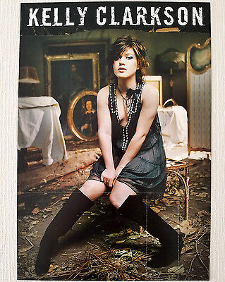 Kelly Clarkson My December Official Album Promo Poster 2007