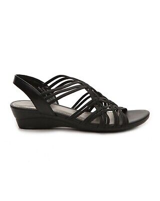 Impo Womens Recent Open Toe Casual Slingback Sandals, Black, Size 10.0 gXXC