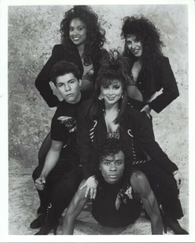 Paula Abdul 8x10 black & white photo