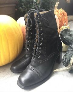 Victorian Witchy Goth Boots