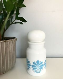 Milk glass container