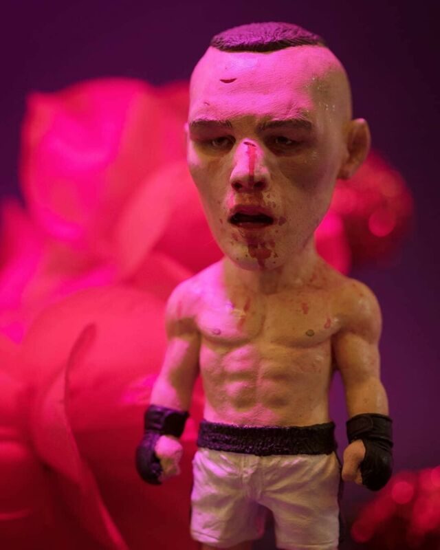 """Rory MacDonald """"ROMAC"""" Plastic Cell Limited Run. Hand Painted Sculpture. 36/250."""