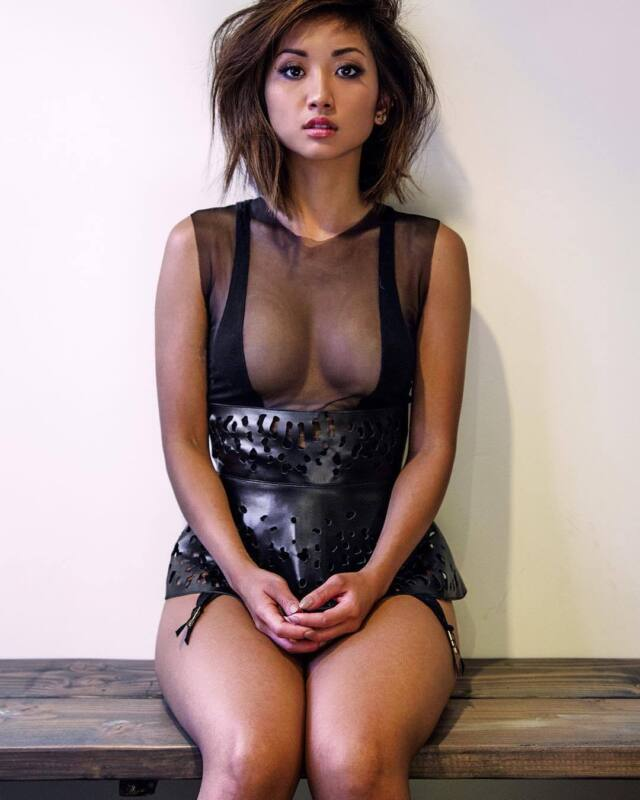 Glossy Photo Picture 8x10 Brenda Song With Transparency