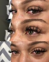 $80 HYBRIDS $60 CLASSICS EYELASH EXTENSIONS - EDMONTON SOUTH