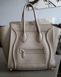 Celine Luggage in Taupe Barely Worn