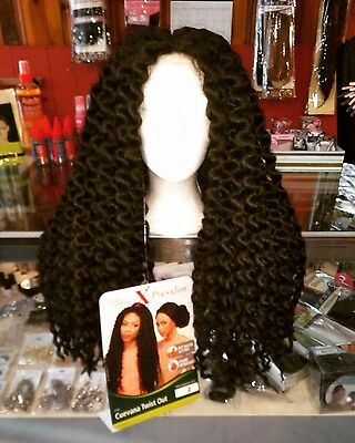 Fashion Lace Wig Cuevana Twist Black Baby Hairs