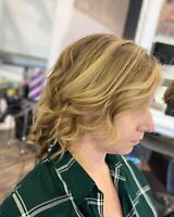 FREE haircut with paid color service