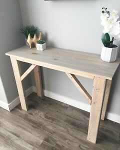 Rustic Console Table - Brand New!