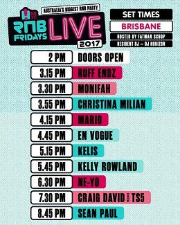 Rnb Live Gold Ticket