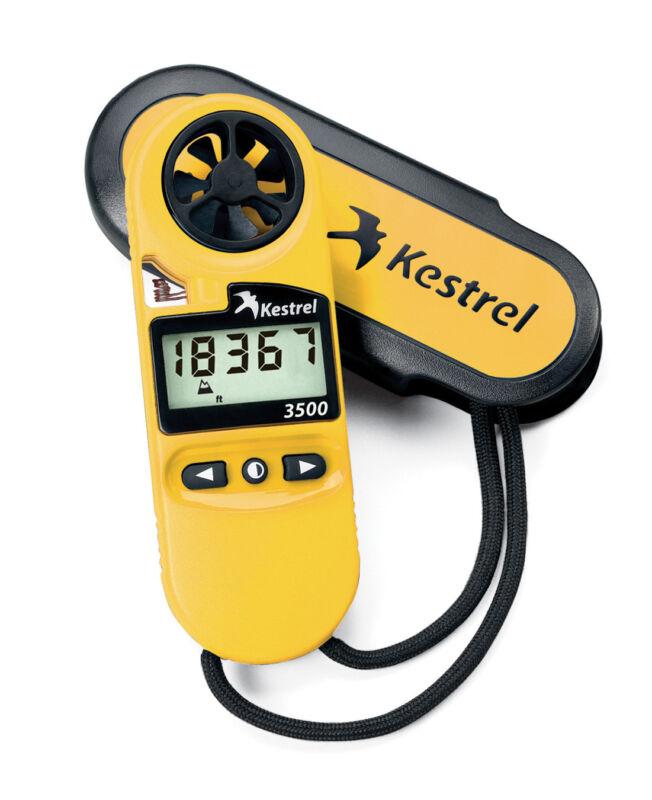 Kestrel 3500 (0835) Handheld Weather Meter - Yellow | Factory Authorized Dealer