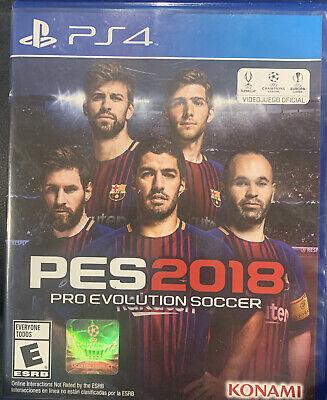 Pro Evolution Soccer 2018 PS4 PES 2018 Spanish + English