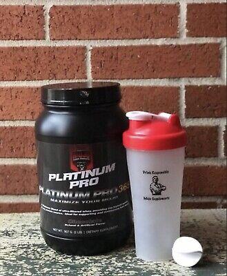 Chocolate Platinum Pro Whey Protein 2lb. Best Tasting Low Calorie - With (Best Tasting Chocolate Whey Protein Powder)