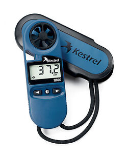 Kestrel 1000 Pocket Wind Speed Meter Anemometer NEW