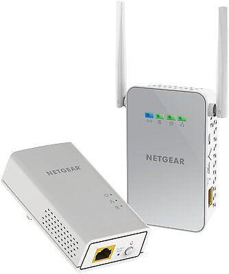 Netgear PowerLINE WiFi PLW1000-100NAS Access Point & Adapter