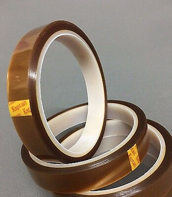 1 Roll 15mm10m Kapton Double-sided Adhesive Tape High Temperature For Smt Pcb