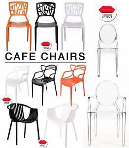 NEW Cafe Chairs Replica dining chairs for cafe, home or business Nerang Gold Coast West Preview