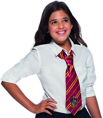 Rubies 339037 - Harry Potter Gryffindor Tie, Krawatte Schuluniform Hogwarts, - Harry Potter Schuluniform Kostüm