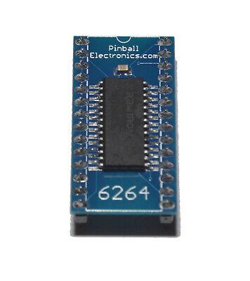 6264 NVRAM Battery Eliminator for Bally Williams Data East Sega Stern Pinball