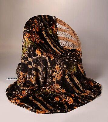 CAMO WOODS Luxury Twin Soft Fleece Cashmere Blanket 60
