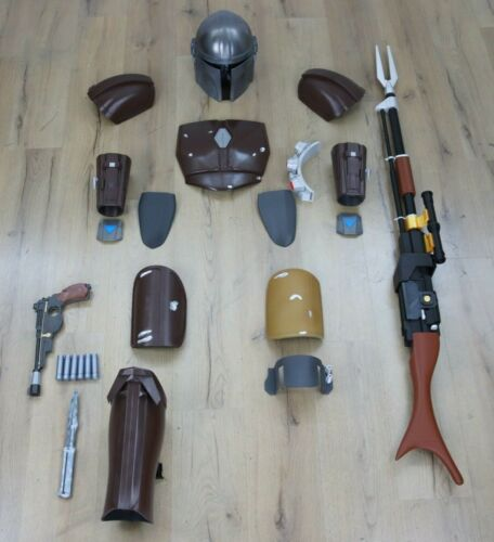 Mandalorian Complete Wearable Costume 3d Printed for Cosplay