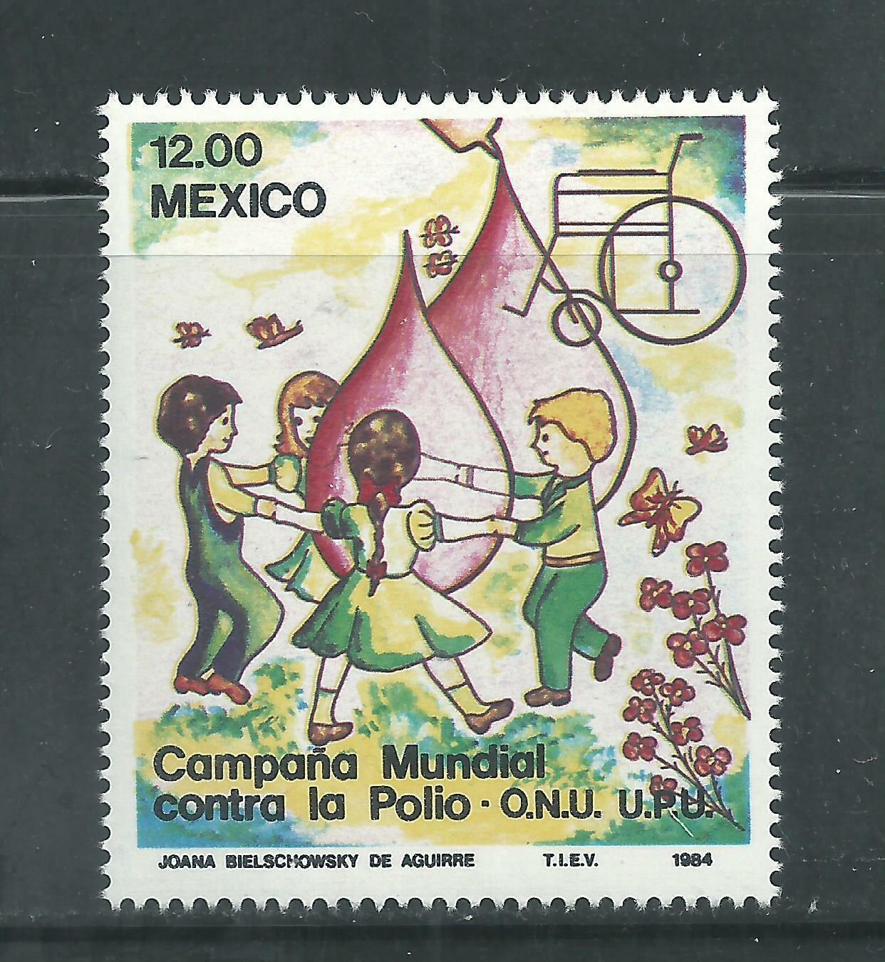 Mexico Scott # 1345 MNH Fight Against Polio