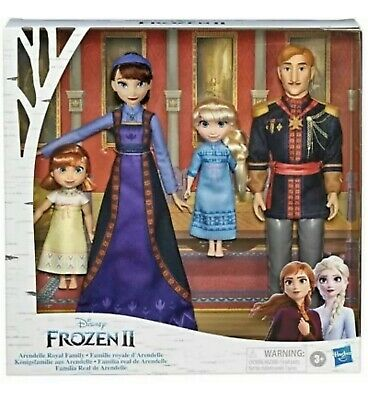Disney Frozen II 2 Movie ARENDELLE ROYAL FAMILY Toddler Anna Elsa BABY MOM DAD