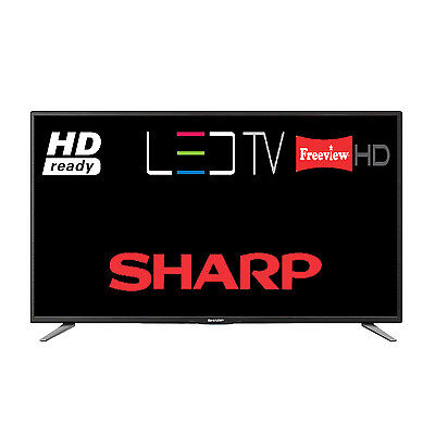 "Sharp LC-32CHE5111K 32"" LED TV HD Ready 720p Built-In Freeview HD 3 HDMI Sockets"