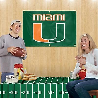 (Miami Hurricanes NCAA  Football Party Kit)